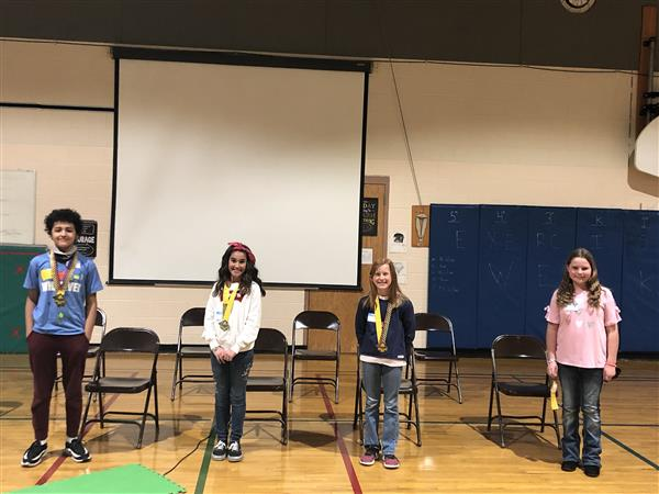 RCE: Spelling Bee 2020 winners