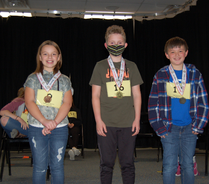 Singing Hills Spelling Bee Winners